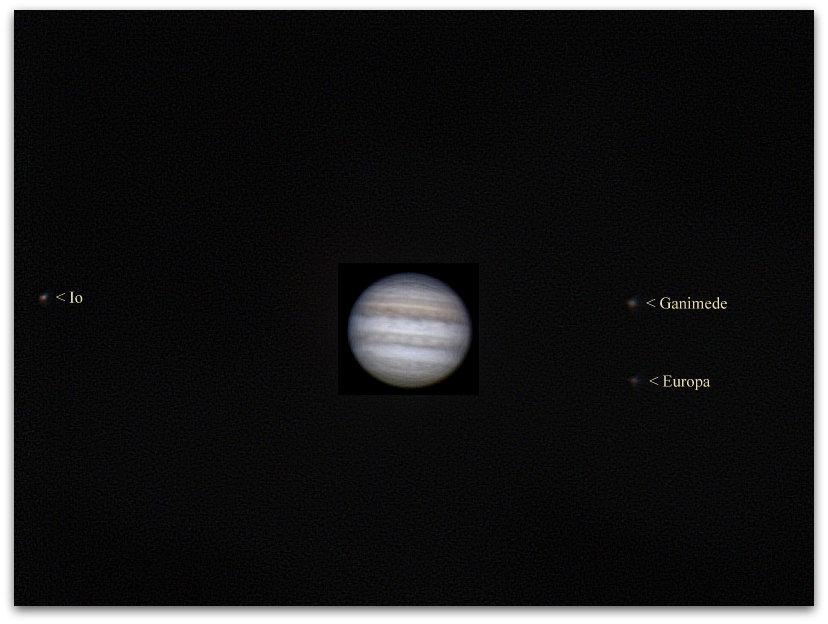 Obserwacja Jowisza 01-04-2017