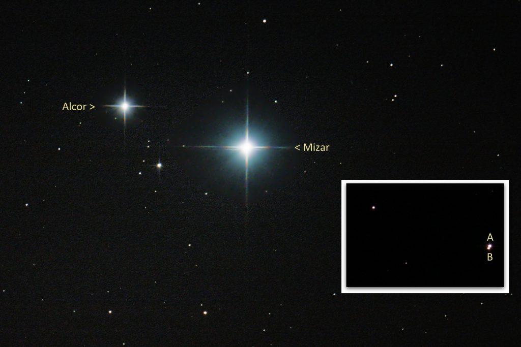Mizar i Alcor – układ wielokrotny